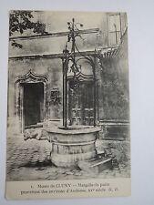 Musée de CLUNY-Margelle TU Puits provenant du Provins D 'Amboise XVe vous/AK