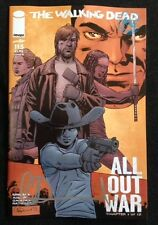 The Walking Dead # 115 Medianoche Portada Alternativa Firmada Por Charlie Adlard