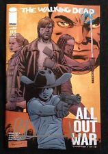The Walking Dead # 115 Medianoche Portada Alternativa Firmada Por Charlie Adlard