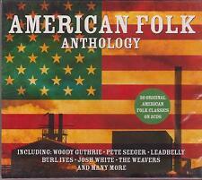 AMERICAN FOLK - VARIOUS ARTISTS on 2 CD's - NEW