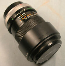 Canon FD 135mm 1:3.5 S.C.  manual focusing  lens Exceptional   mint