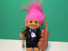 """Cellist / Cello - 5"""" Russ Troll Doll - New In Original Wrapper"""