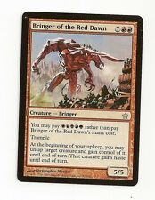 MTG 4X ** BRINGER OF THE RED DAWN** X4 Magic Fifth Dawn