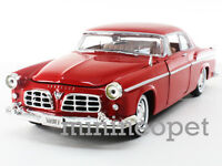 MOTORMAX 73302 1955 55 CHRYSLER C300 1/24 DIECAST RED
