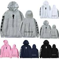 Unisex Couple Billie Eilish Hoodie Hooded Sweatshirt Hip Hop Dance Rapper Jumper
