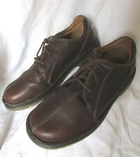 DR MARTENS DMs MENS AIR CUSHIONED SOLE LACE UP SOFT BROWN LEATHER BROGUES UK 12