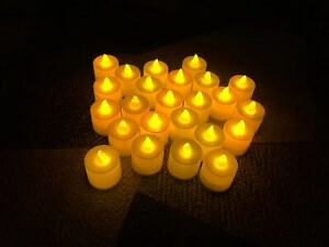 Flameless LED Candle Battery Operated Tea Light Flickering Celebrate Valentine