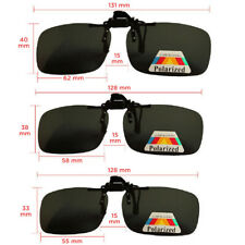 Mens Sunglasses Polarized Clip On Driving Glass Lens UV400 Hiking Summer Gift UK