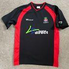 VINTAGE WREXHAM FC FOOTBALL CLUB NORTH WALES BLACK SHIRT S SMALL 2006