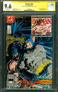 Batman 420 CGC 2XSS 9.6 Mike Zeck Jim Starlin KG Beast 1988 President Reagan