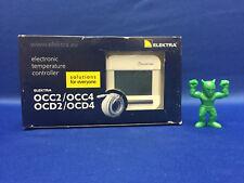 Elektra OCD4-1999-EA Programmable Temperature Controller Flush Mount 230V IP21