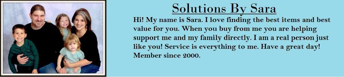 Solutions by Sara