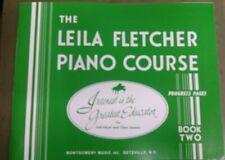 The Leila Fletcher Piano Course Book Two