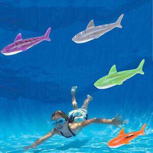 Diving toy pool dive shark throwing water torpedo underwater fun childr_da