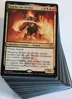 ***Custom Commander Deck*** Rakdos the Defiler - Demon Tribal - EDH Magic Cards
