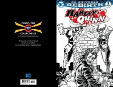HARLEY QUINN #1 MICHAEL ALLRED COMIC POP EXCLUSIVE BLACK/WHITE COVER! Rebirth