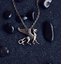 Griffin Griffon Magic Bird Animal Pendant Greek Bird Mythical Bird Griffin...