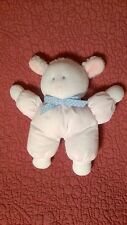 "8"" Eden LAMB RATTLE pink blue plush stuffed animal baby toy"