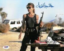Linda Hamilton Signed Terminator autographed 8x10 Rp photo