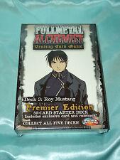 Fullmetal (Full Metal)  Alchemist TCG/CCG Starter Deck Roy Mustang *sealed*