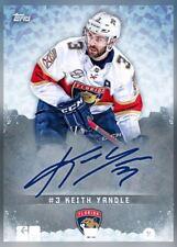 18-19 SIGNATURE SERIES (TOPPS SIGNATURE) KEITH YANDLE NHL Skate Digital