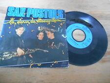 "7"" POP sax pustuls-Danse du Marsupilami/bas les povero (2) canzone Epic CBS WOC"