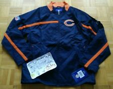 NWT Chicago Bears NFL Reebok Full Zip Sentinel Jacket Men Small