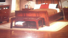 MOVING SALE ..... Nottingham Merlot Mahogany Queen size 4pc Bedroom Set