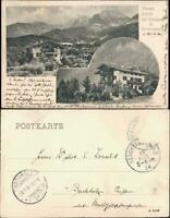 Ansichtskarte Berchtesgaden Hoher Göll. Pension Hofreit 2 Bild 1904
