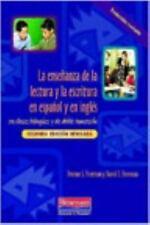 La ensenanza de la lectura y la escritura en espanol y en ingles: en clases bili