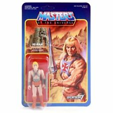 Masters of the Universe He-Man Reaction Super7 Vintage Style Action Figure