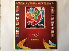 ALBUM PANINI FIFA WOMEN'S WORLD CUP CANADA 2015 VIERGE VIDE EMPTY FRENCH VERSION