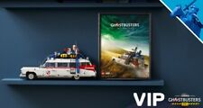 LEGO Ghostbusters ECTO-1 10274 LEGO VIP Afterlife Movie Poster