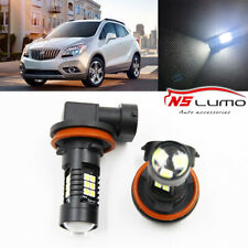 Canbus H11 3030 21SMD LED DRL Daytime Running Fog Lights Bulbs For Buick Encore