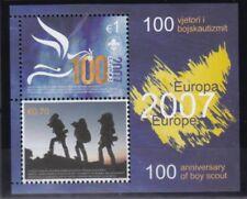 Kosovo 2007 postfrisch MiNr. Block 6   Europa  Pfadfinder