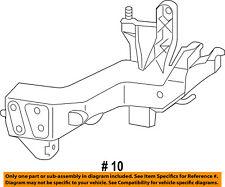 Jeep CHRYSLER OEM Grand Cherokee Radiator Support-Support Bracket Left 5156135AA