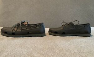 Crocs Classic Boat Shoes Brown Size 10