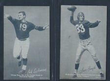 1948-49 EXHIBIT CHAMPIONS SAM BAUGH AND SID LUCKMAN FAIR, REDSKINS AND BEARS
