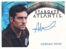 "ADRIAN HEIN ""REPLICATOR AUTOGRAPH"" STARGATE HEROES"