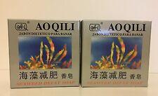 AOQILI - DEFAT Seaweed Bar Soap - 2 Bars NEW
