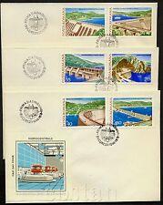 1978 Dams,Hydroelectric Stations,Electric Power,Hidro Turbine,Romania,M.3493,FDC