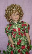 Monique Doll Wig size 12/13 ( Oversized) Fits 14/15 My Twinn, Modacrylic Fiber