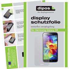 4x Samsung Galaxy S5 / S5 Neo Schutzfolie matt Displayschutzfolie Folie dipos