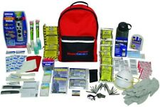 2-Person 3-Day Food Supply Deluxe Emergency Kit with Backpack Water Purification