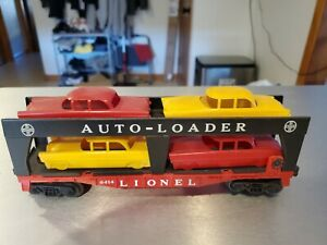 Lionel 6414 with cheapie cars no wheels