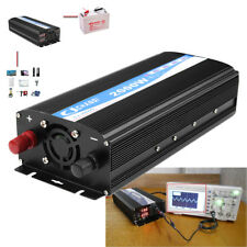 2000W Dual Display Car Power Pure Sine Wave Inverter 12V DC to 220V AC Converter