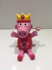 3D Peppa Pig Fairy Cake Topper Edible Fondant, Gum paste, Icing Sugar.