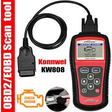 KW808 OBD2 OBDII EOBD Scanner Car Code Reader Tester Diagnostic Scan Interface S