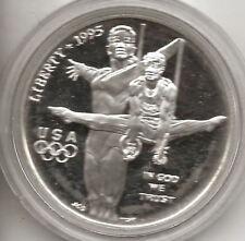 U.S.A. 1 dolar 1995 XIX Olimpiada de Atlanta Proof con estuche