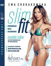 Ewa Chodakowska Slim Fit DVD Szybka Wysylka Z PL